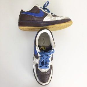 Nike AF1 Mens 2005 Inside Out Low Sneakers 9.5